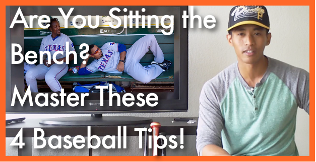 Are You Sitting the Bench? Master These 4 Baseball Tips!