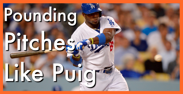 How to increase bat speed in youth baseball: Pounding Pitches Like Puig
