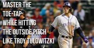 "Troy Tulowitzki shows off AMAZING ""oppo"" power!"
