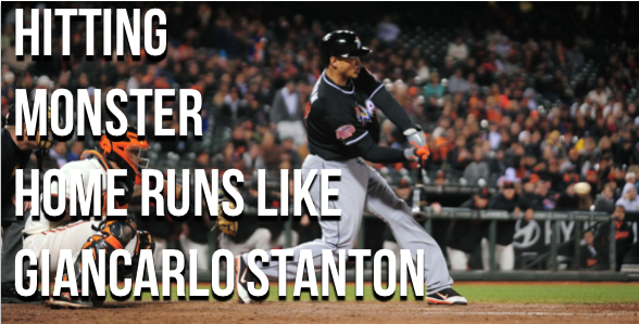 Giancarlo Stanton home run bat speed swing analysis