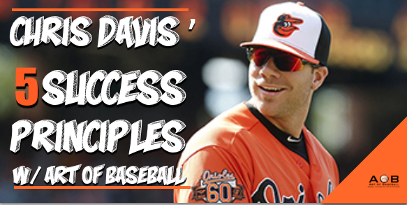 Chris Davis Baseball Success Principles: How To Take Advantage of Playing Time.
