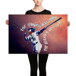 Justin Turner – Canvas (The Harder You Work The Luckier You Get)